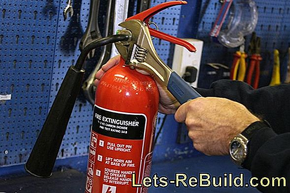 Maintenance of fire extinguishers - when and how?