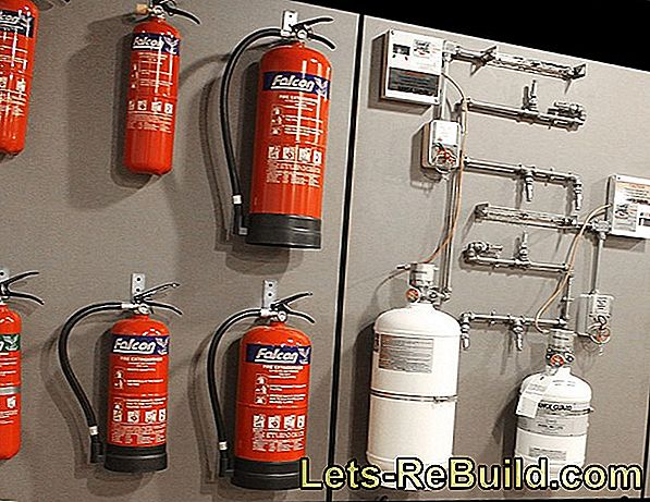 Which extinguisher types are suitable for what?