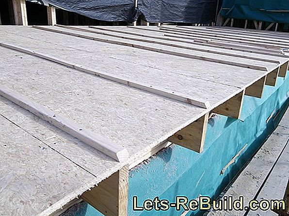 Build a flat roof