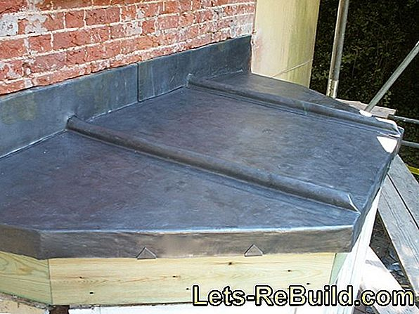 Do the flat roof renovation yourself