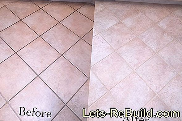 Effectively seal floor tiles