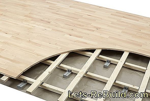 Flooring laid floorboard - easy and fast
