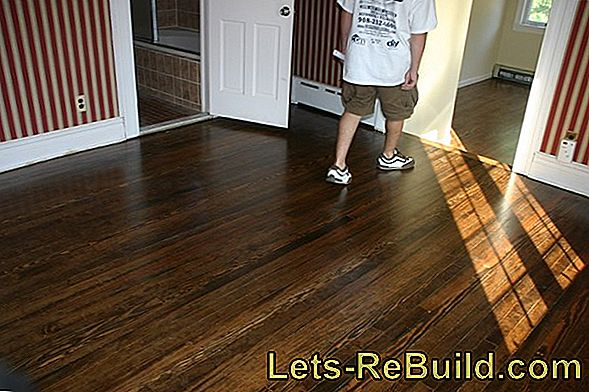 Staining Planks » Instructions In 3 Steps
