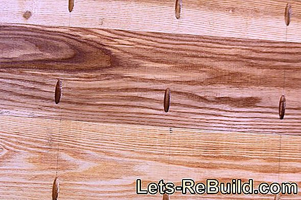 Cleaning Planks Instead Of Sanding » Instructions In 4 Steps