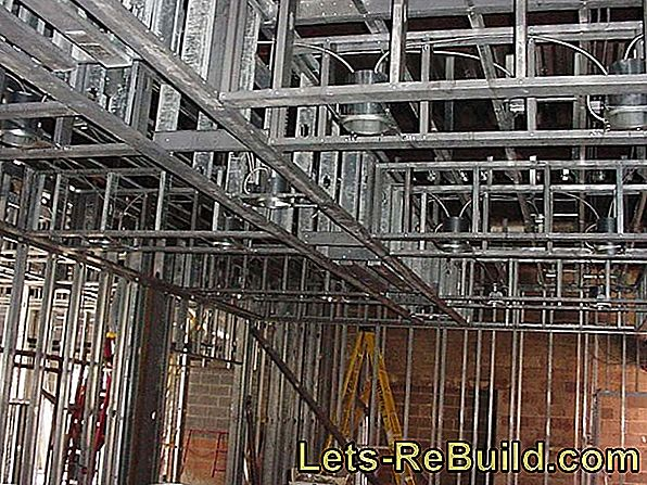 Install steel frame - this is how it works