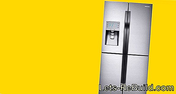 Give the refrigerator according to its temperature zones