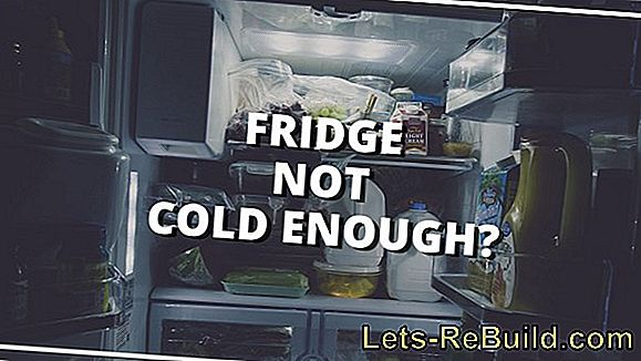 What can I do if the fridge is too cold?