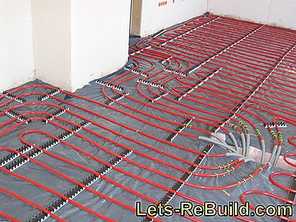 Cost of underfloor heating per 100 square meters of floor space