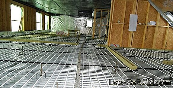 Underfloor Heating In Floor Plate » Advantages & Problems