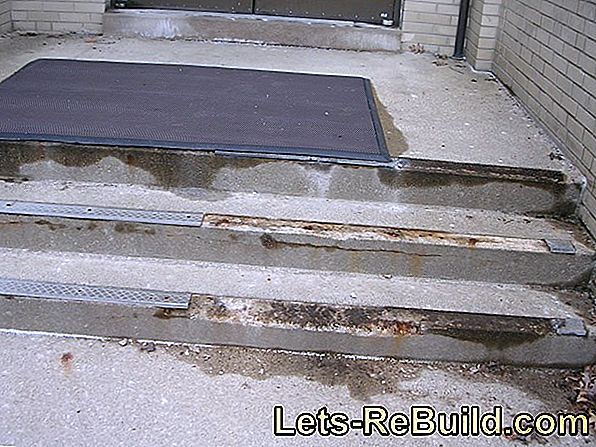 Sanding cement screed - that's important