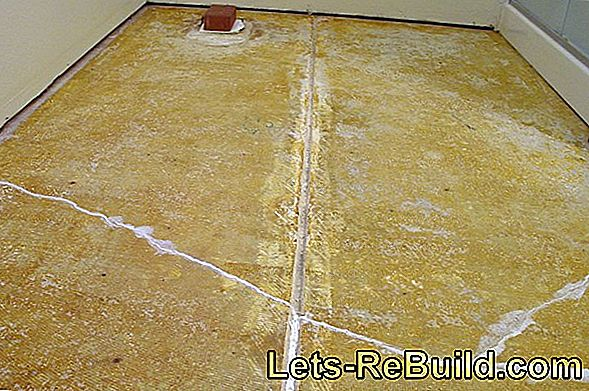How to lay floating floor tiles