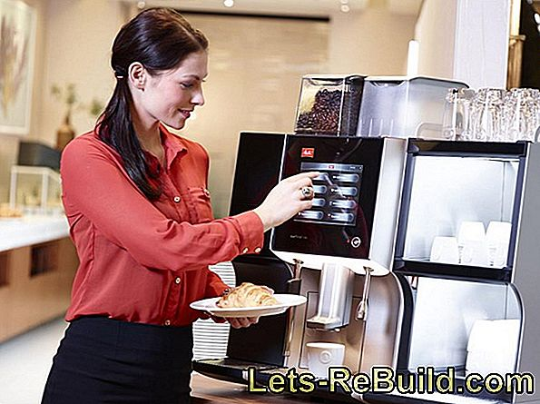 Lease coffee machine: advantages and prices
