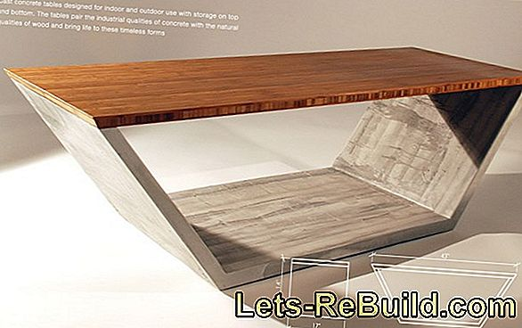 Make Concrete Furniture Yourself » Is That Possible?