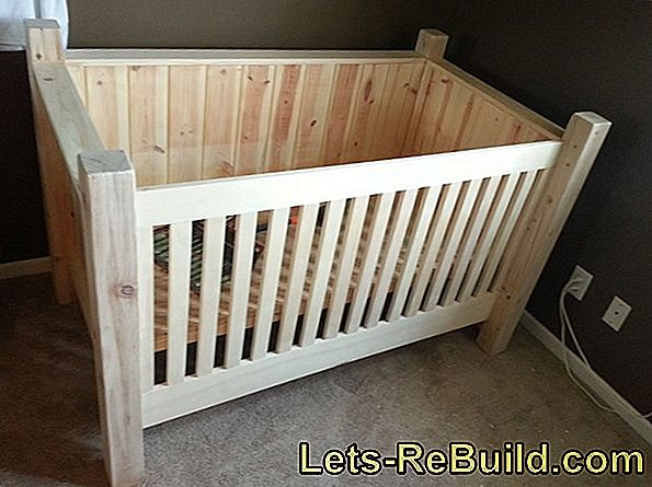 Build baby cradle yourself: hanging weigher for your baby