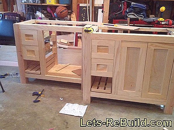 Build Bathroom Furniture Yourself