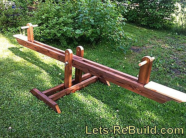 Build A Wooden Children'S Seesaw