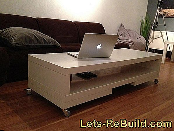 Build a coffee table yourself