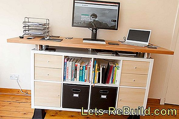 Build a desk: build a desk yourself