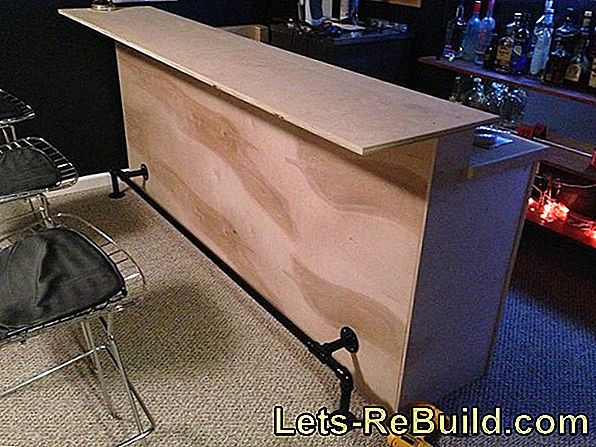 Build A Lighted Side Table Yourself: Free Construction Guide