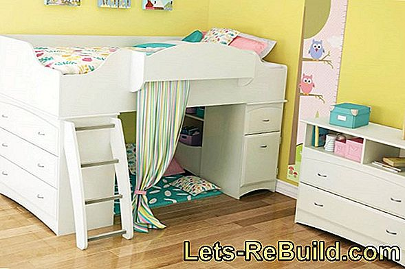 Building Instructions: Building Elephant Loft Bed For Children