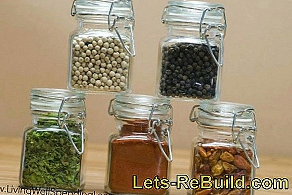 Build Kitchen Shelf With Magnetic Holder For Spice Jars Yourself