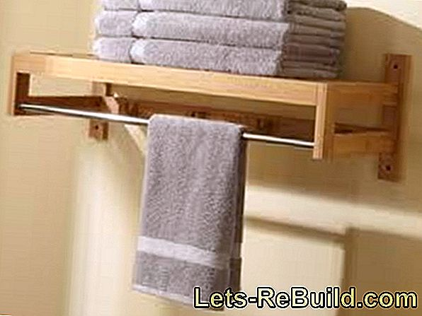 Bathroom Shelf And Towel Rack