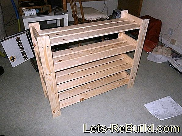 Build A Shoe Rack Yourself