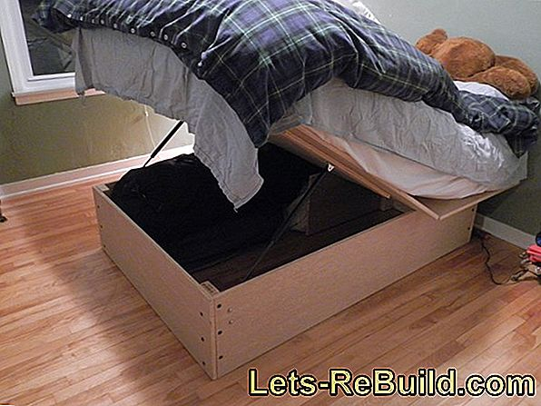Build A Waterbed Yourself - Illustrated Instructions