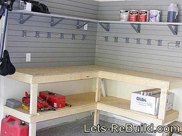 Build workbench and tool cabinet yourself