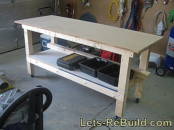 Build Your Own Workbench - Construction Manual And Workbenches At A Glance