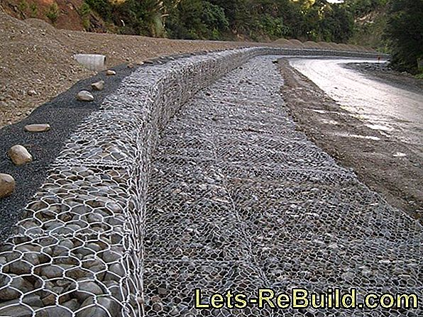 Building The Gabion Wall » Instructions In 5 Steps