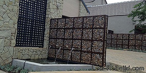 Build Gabion Fountain Yourself » That'S How It'S Done