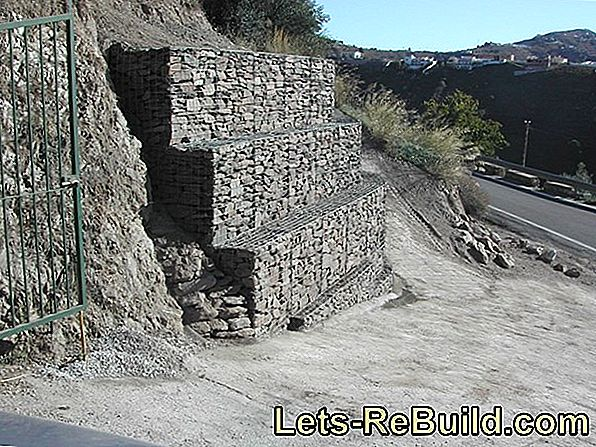 Gabions As A Retaining Wall