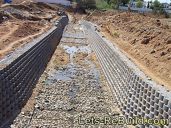 Gabions for slope attachment