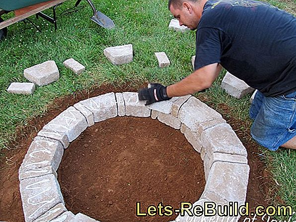 Build gabion grill yourself - that's how it works