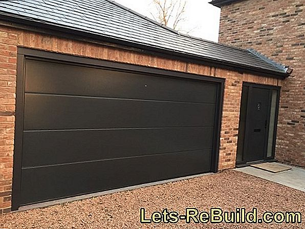 The prices for garage doors as sectional doors