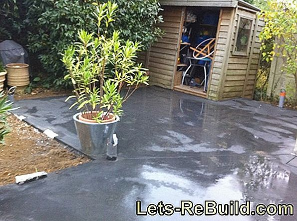 Paving Garage Floor » Is This Possible?