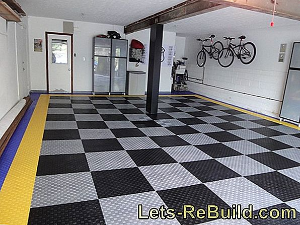 Renovate garage floor - these measures are necessary