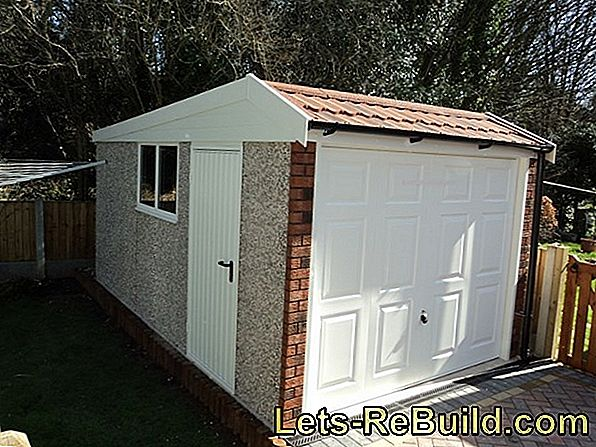 Prices for prefabricated concrete garages