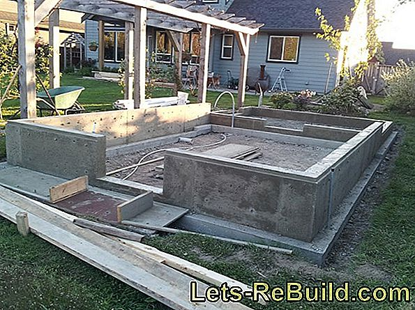 Strip Foundation Garden House - How It'S Done