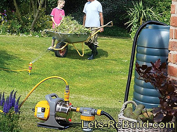 Connection Of A Garden Pump » These Connections Are Available