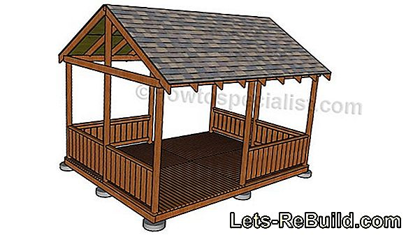 Wooden shelter Building instructions for building yourself