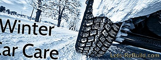 Car care in winter