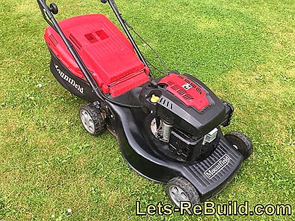 Electric Lawn Mower And Petrol Lawnmower