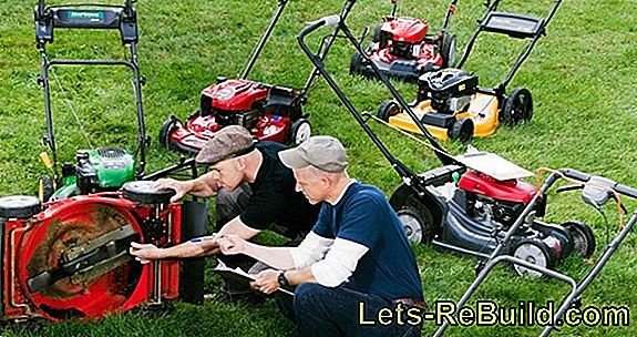Electric lawnmower test and price comparison