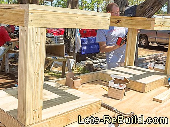 Build garden cupboard yourself
