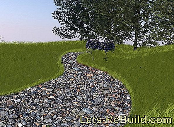 Create A Gravel Path