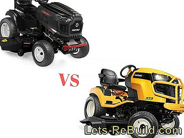 High grass mower comparison 2018