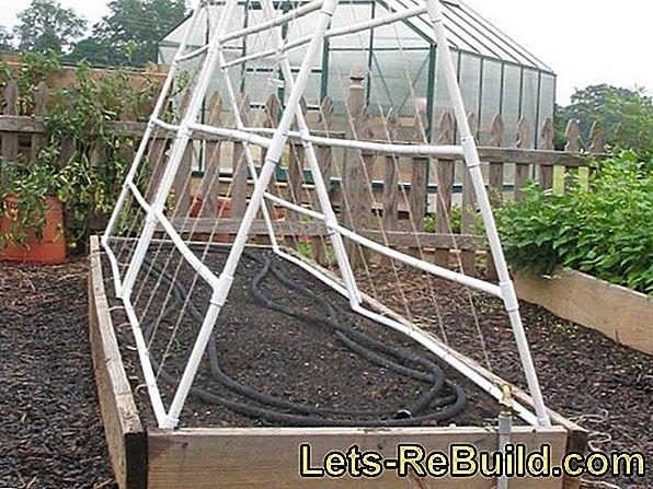 Building Instructions For Plant Boxes And Trellises