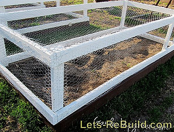 Build a raised bed: building instructions for a raised bed